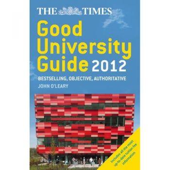 Sunday times good university guide 2012.