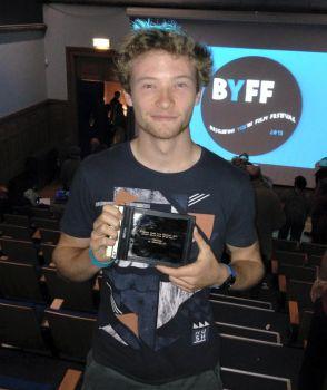 Student filmmaker wins a week at national broadcasting
