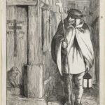 Dalziel after Alfred Walter Bayes, 'Plague in London', illustration for H W Dulcken, A Picture History of England