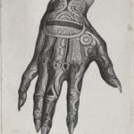 Dalziel after Johann Baptist Zwecker, 'Marquesas Chief's Hand', illustration for J G Wood, The Natural History of Man