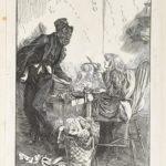 Dalziel after Arthur Boyd Houghton, frontispiece to Charles Dickens, Our Mutual Friend