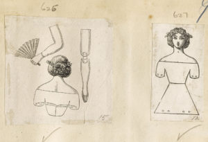 Dalziel, illustration for 'To make dancing dolls', in Laura Valentine (ed.), The Home Book of Pleasure and Instruction