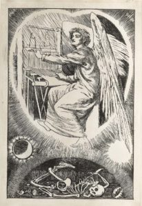 Dalziel after Arthur Hughes, 'My Heart', frontispiece to The Sunday Magazine