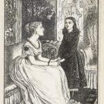 Dalziel, 'She held me before her', illustration for Ellen Wood, Anne Hereford