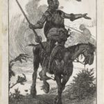 Dalziel after Arthur Boyd Houghton, frontispiece for Miguel de Cervantes Saavedra, The Adventures of Don Quixote de la Mancha