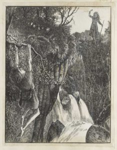 Dalziel after Arthur Hughes, unidentified illustration made for the publisher Smith & Co