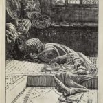 Dalziel after Arthur Boyd Houghton, illustration for George Macdonald, 'The Woman that was a Sinner', in The Sunday Magazine