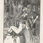 Dalziel after Arthur Boyd Houghton, 'The Victim', illustration for the magazine Good Words
