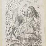 Dalziel after John Tenniel, illustration for 'Alice's Evidence', in Lewis Carroll [Charles Lutwidge Dodgson], Alice's Adventures in Wonderland