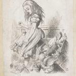 Dalziel after John Tenniel, illustration for 'Alice's Evidence', Lewis Carroll [Charles Lutwidge Dodgson], Alice's Adventures in Wonderland