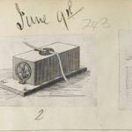 Dalziel, unidentifed illustration of electric telegraph apparatus