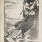 Dalziel after Arthur Boyd Houghton, illustration for unidentifed edition of Daniel Defoe, Robinson Crusoe
