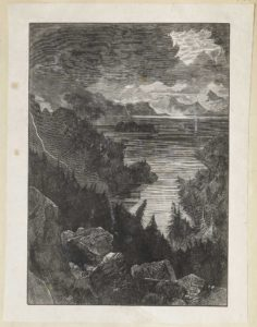 Dalziel, 'Romantic Scene in Hawaii', illustration for Pleasant Hours: A Monthly Journal of Home Reading and Sunday Teaching