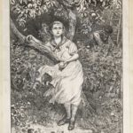 Dalziel after Frederick Walker, illustration for 'The Seasons' (Autumn), in A Round of Days