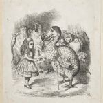 Dalziel after John Tenniel, illustration for 'A Caucus-Race and a Long Tale', in Lewis Carroll [Charles Lutwidge Dodgson], Alice's Adventures in Wonderland
