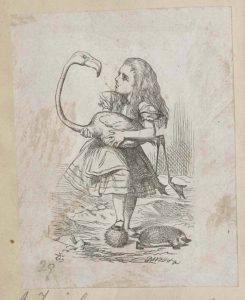Dalziel after John Tenniel, illustration for 'The Queen's Croquet-Ground', Lewis Carroll [Charles Lutwidge Dodgson], Alice's Adventures in Wonderland