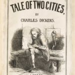 Dalziel, cover and spine for Charles Dickens, A Tale of Two Cities