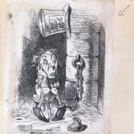 Dalziel after John Tenniel, illustration for 'Wool and Water', in Lewis Carroll [Charles Lutwidge Dodgson], Through the Looking-Glass, and What Alice Found There