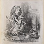 Dalziel after John Tenniel, illustration for 'Which Dreamed It?', in Lewis Carroll [Charles Lutwidge Dodgson], Through the Looking-Glass, and What Alice Found There