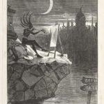 Dalziel after William S Brunton, 'Hieroglyphic to Macaulay's Prophetic Almanac', frontispiece for Andrew Halliday