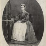 Dalziel, from a photograph, 'Agnes E Jones', illustration for H A Page, 'Una and Her Paupers'