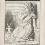 Dalziel after John Tenniel, illustration for 'The Pool of Tears', in Lewis Carroll [Charles Lutwidge Dodgson], Alice's Adventures in Wonderland