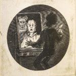 Dalziel after Alfred Thomspon, 'Lecture on Bogueys', illustration for Tom Hood
