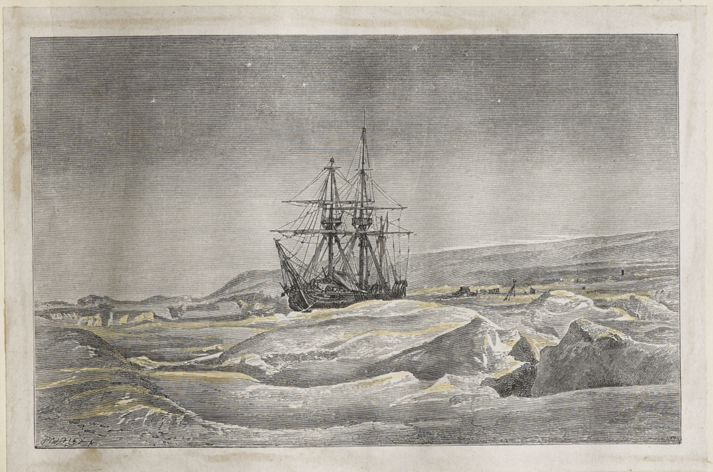 Dalziel engraving (Ice Bound, by Helen Bailey)