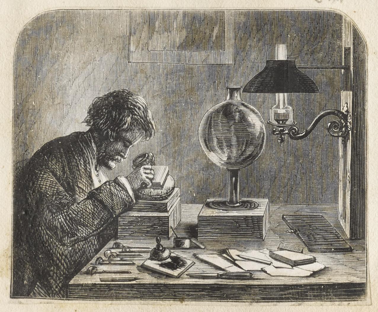 Wood Engraver, Dalziel Brothers