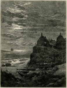 Figure 2. 'At Sea and on Shore'. Dalziel brothers for Birket Foster's Pictures of English Landscapes (1863)