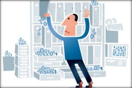 Image of data management
