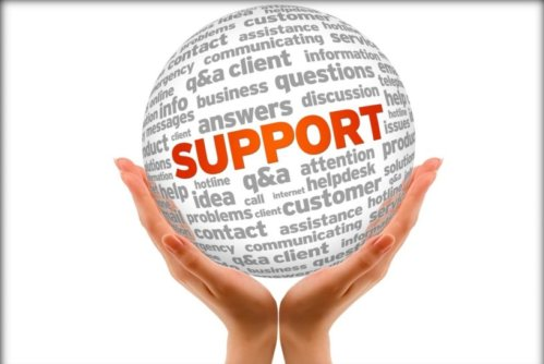 Image of user support