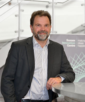 Mike Herd, Executive Director of the Sussex Innovation Centre