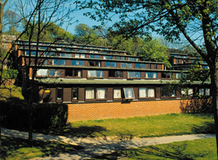 East Slope is friendly and affordable housing close to a lively student bar