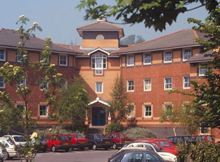Lewes Court is located at the north end of campus