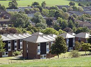 Park Village Houses are three-storey houses laid out like a small village