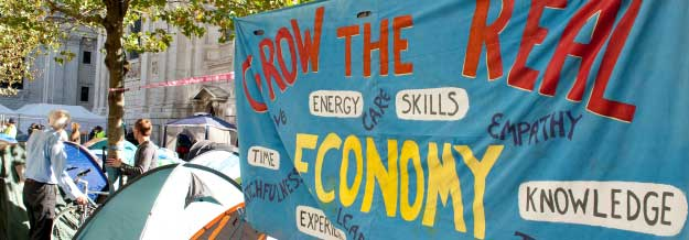 Economics banner - Grow the real economy