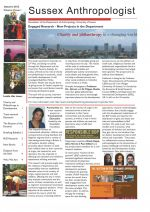 Anthropology Newsletter Autumn 2012