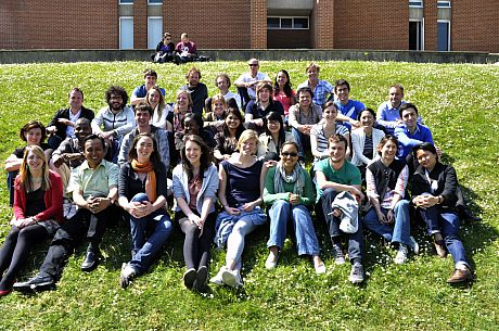 MSc climate change students