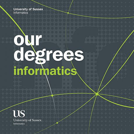 Informatics UG: our degrees cover