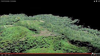 3D rendering of aerial imagery collect for the Conservation Chocolate project