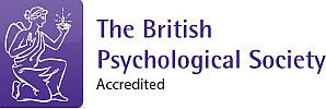 British Psychological Society accreditation badge