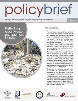 Rethinking urban waste management in India  : Publications