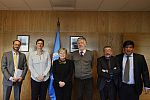 Economist Mariana Mazzucato met with senior officials of ECLAC