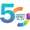 SPRU 50 years logo square