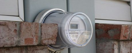 picture of an electricity meter