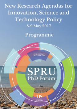 PhD Forum Programme 2017 cover snapshot
