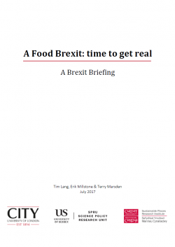 Food Brexit report - cover image