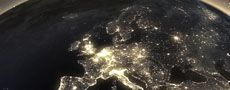 UK at night seen from space 230x90px