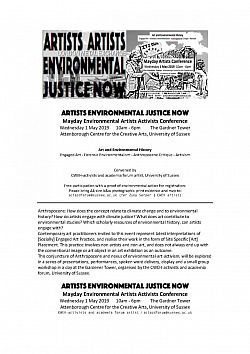 Artists Environmental Justice Now